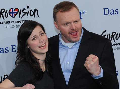 Stefan Raab with Girlfriend Nike