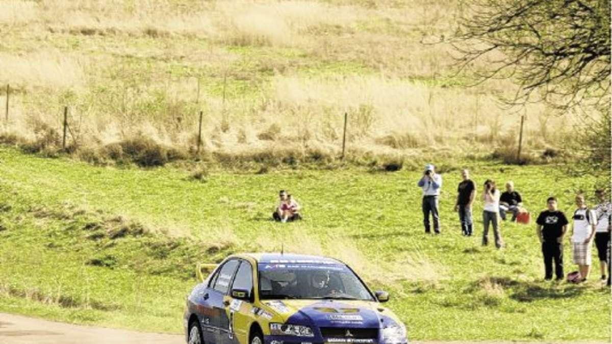 Hitzeschlacht Bei Der Rallye Sonnefeld Sport In Der Region