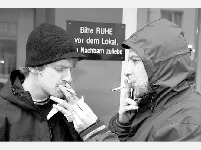 In der Kliniken Rauchen aufzugeben