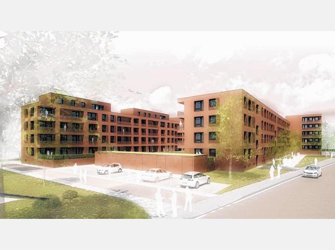 Baubeginn in der finsterwalderstra e rosenheim stadt for Architekturburo rosenheim