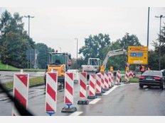 Straßenbauarbeiten in Stephanskirchen noch bis November