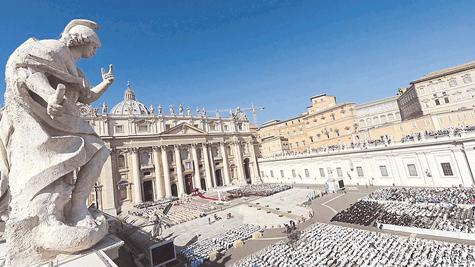 Sonniger Abschluss der Synode