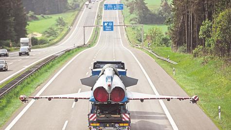 Eurofighter auf Reisen