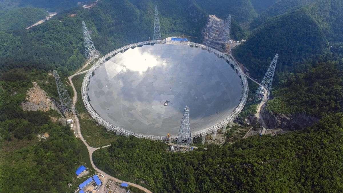 Größtes Radioteleskop Der Welt