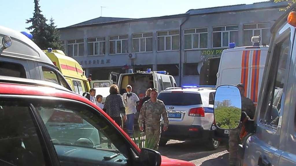Selbstmordanschlag in Schule auf der Krim: Viele Kinder tot