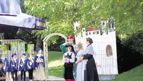 """Der gestiefelte Kater"" als Open-Air-Theater"