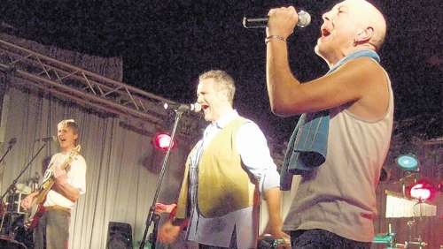 """Karokult-Rock-Party"" mit dem ""Lampferding Social Club"""