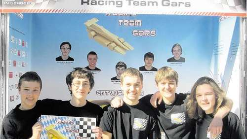 Racing Team Gars in Kronach am Start