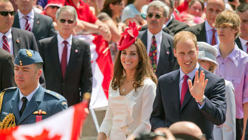 Kanadier feiern William und Kate