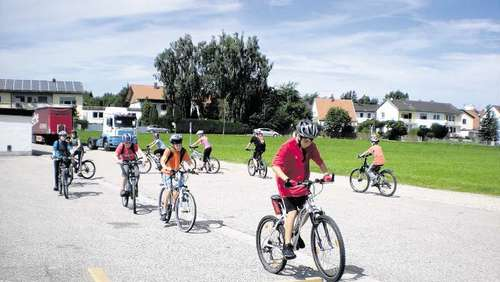 Mountainbiken war der Renner