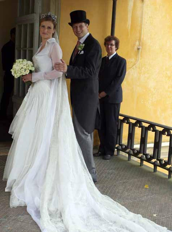Hohenzollern Hochzeit Paar Getraut Leute