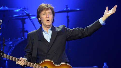 Paul McCartney weiß, was das Publikum will