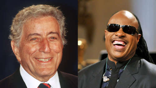 Tony Bennett plant Album mit Stevie Wonder