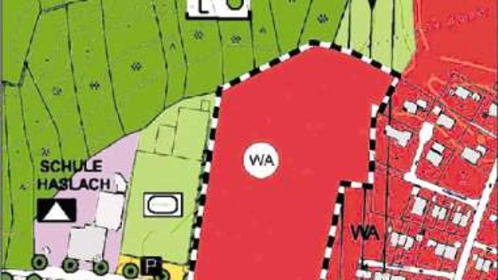 40 Wohnhäuser in Haslach geplant | Chiemgau
