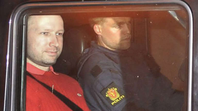 Massenmörder Breivik gibt TV-Interview