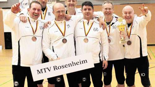 M45-Faustballer holen DM-Bronze
