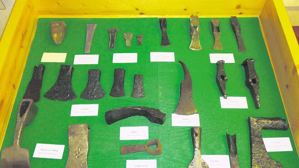 Werkzeuge der Vorfahren   Chiemgau