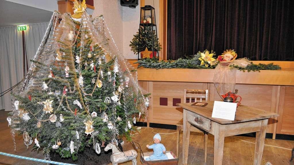 Weihnachtsbaum Engelshaar.Weihnachtsbaum Im Wandel Der Zeit Chiemgau