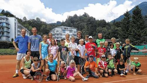 Tennis-Feriencamp in Oberaudorf