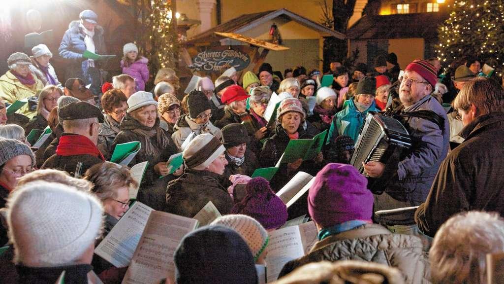 Weihnachtslieder Zum Singen.Weihnachtslieder Selber Singen Chiemgau