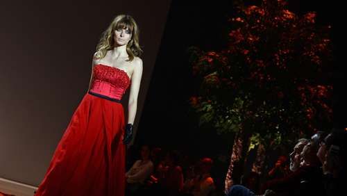 Fashion Week Berlin: Promi-Models bei Michalsky