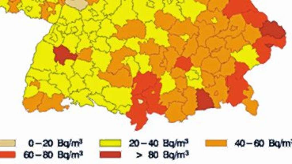 Radon Karte Deutschland.Radon Gefahr Aus Dem Keller Mühldorf