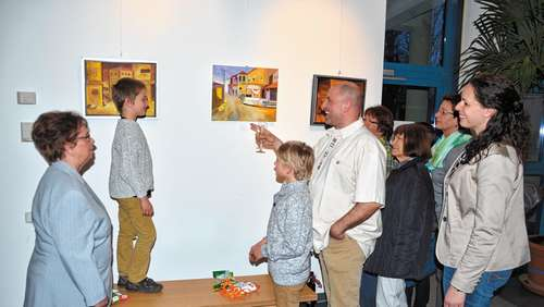 Kuschinsky-Vernissage in Raubling