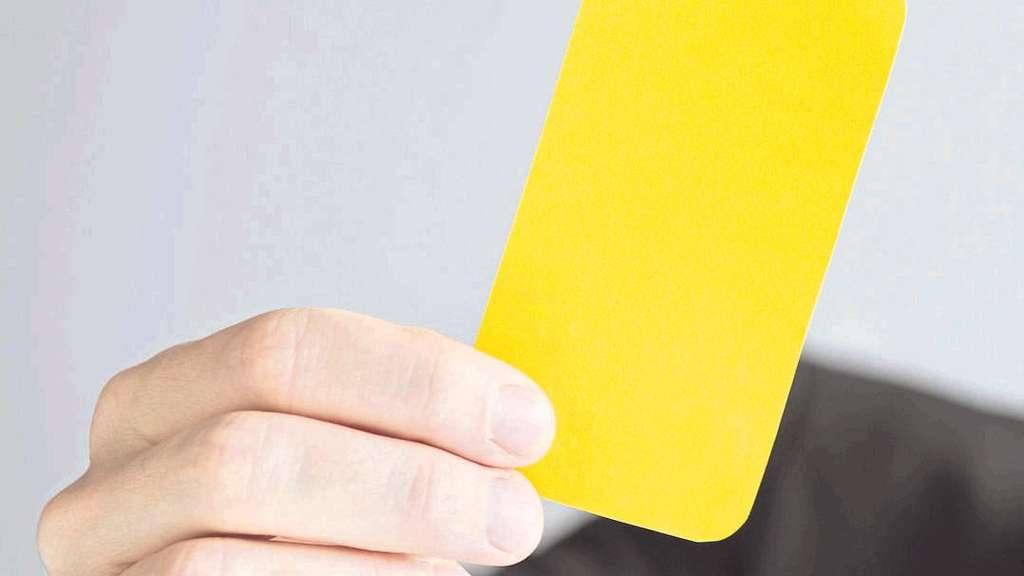 Die Gelbe Karte Für Arbeitnehmer Wirtschaft