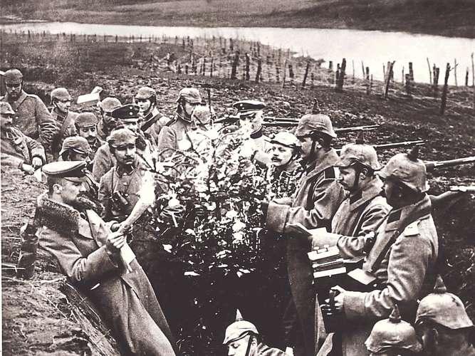 Weihnachtswunder 1914