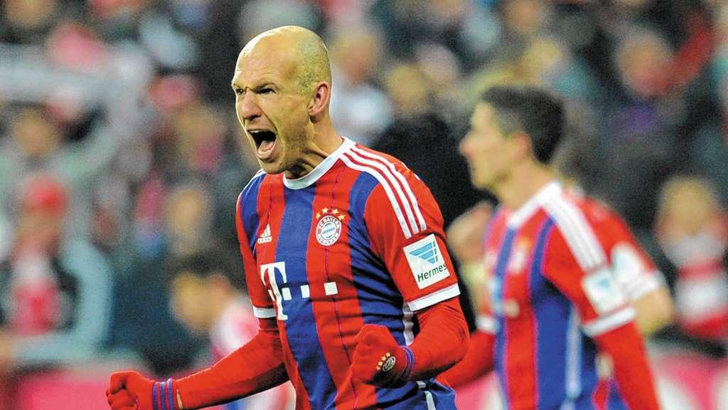 Pokalspiel Bayern Braunschweig