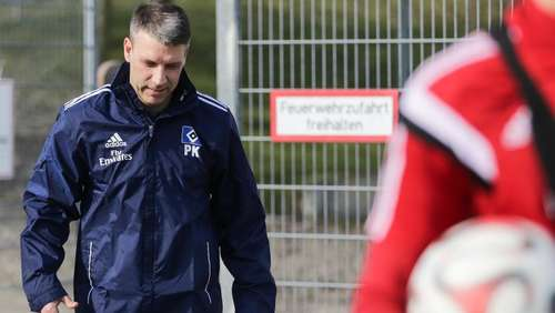 Mission Impossible? - HSV-Coach Knäbel vor Premiere