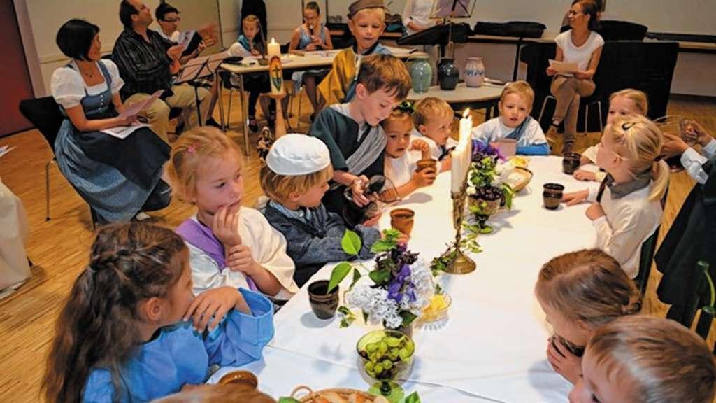 Hochzeit Zu Kana Im Kindergottesdienst Bad Aibling