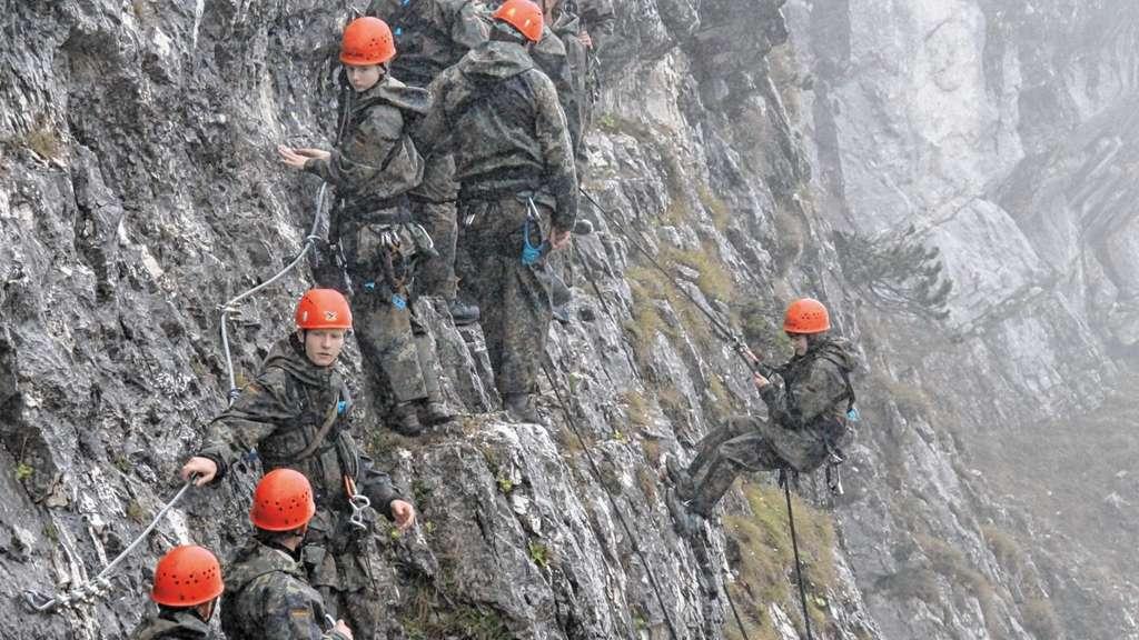 Klettersteig Norddeutschland : Erfahrung gesammelt und sich bewiesen rosenheim land