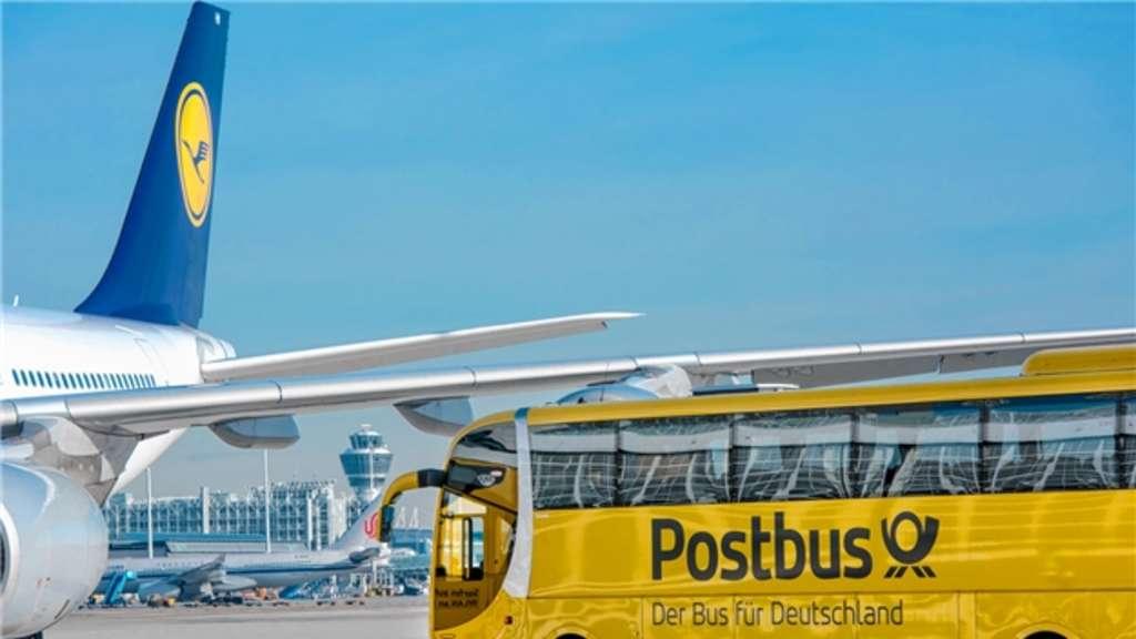Postbus Flughafen München