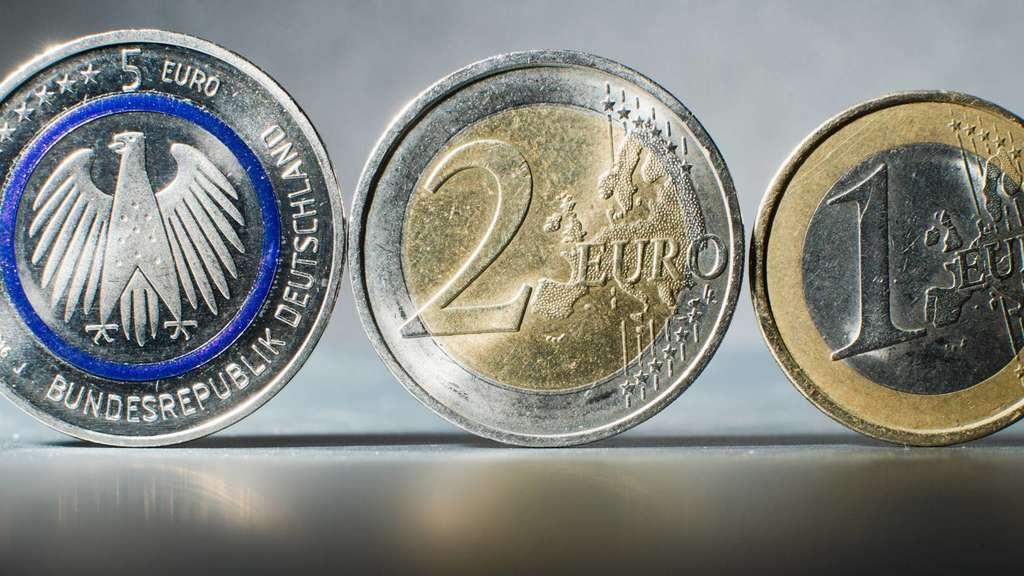 Heiß Begehrtseit Gestern Ist Sie Zu Haben Die Neue Fünf Euro Münze