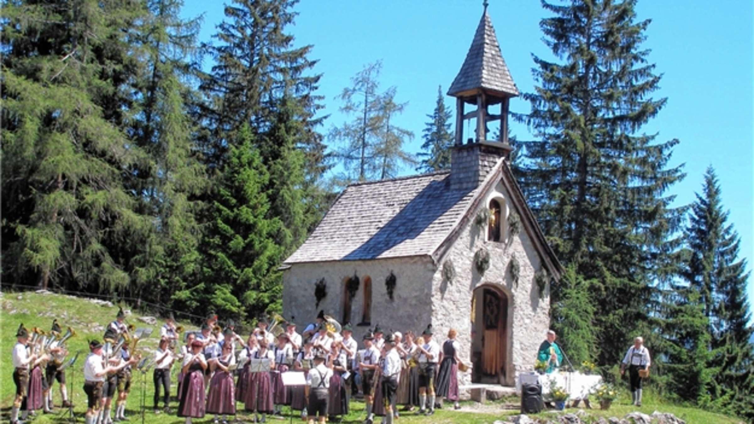Bildergebnis für st.anna kapelle hemmersuppenalm reit im winkl