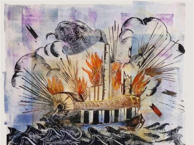 moderne kunst befasst sich mit flüchtlingen und einheimischen, Hause ideen