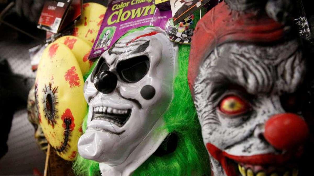 polizei bef rchtet grusel clowns werden ein h sslicher trend weltspiegel. Black Bedroom Furniture Sets. Home Design Ideas