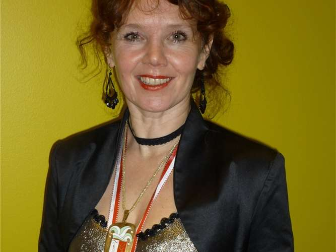 <b>Marianne Hartmann</b>,Präsidentin der Aiblinger Faschingsgilde. - 686439508-990_0008_69794_fasching_marianne_hartmann_doc6s9rj0cuhs2-44RG