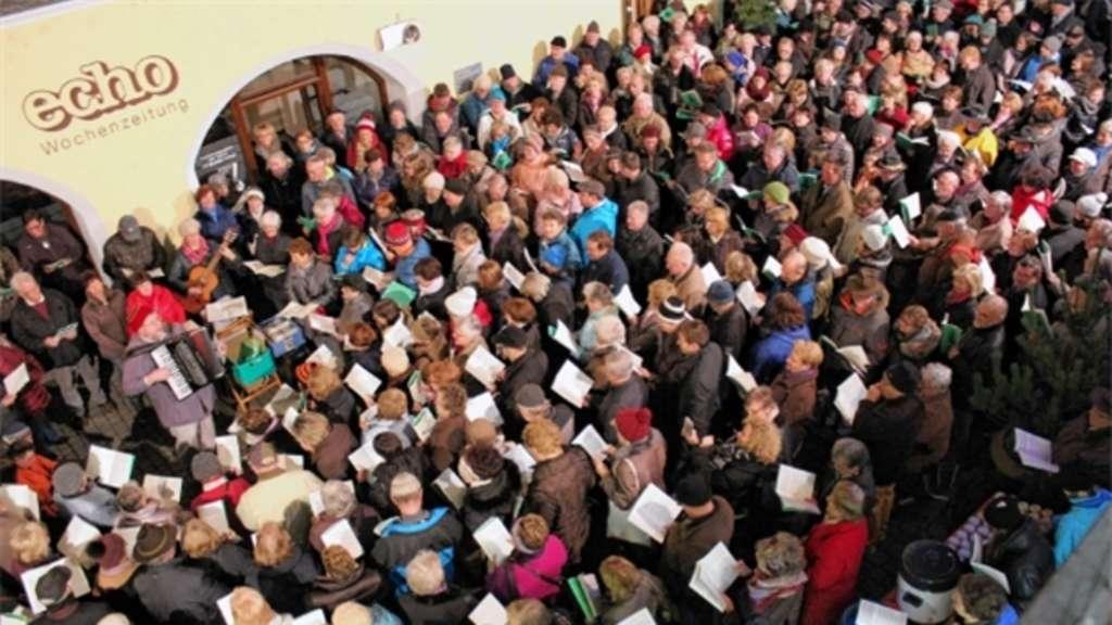 Weihnachtslieder Kurz.Weihnachtslieder Singen Mit Dem Ovb Rosenheim Stadt