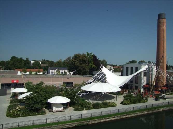 Kolbermoor Alte Spinnerei café aktivität wird verlagert turbinenhaus für events kolbermoor