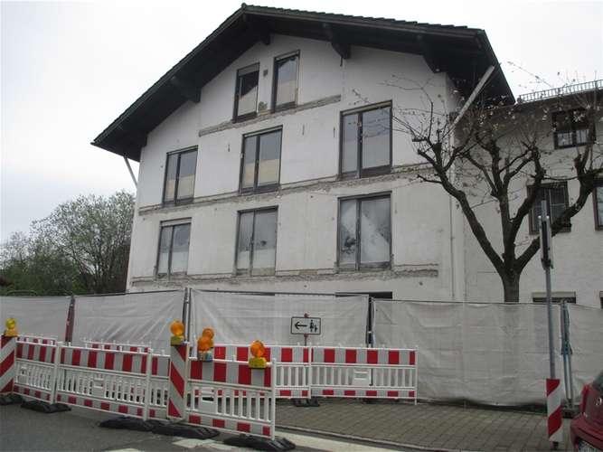 Fenster Bad Endorf : Die Umbaumaßnahmen im Haus Katharina sind in vollem Gange re