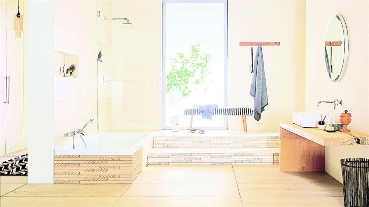 Neues bad im alten haus rosenheim for Raumgestaltung rosenheim