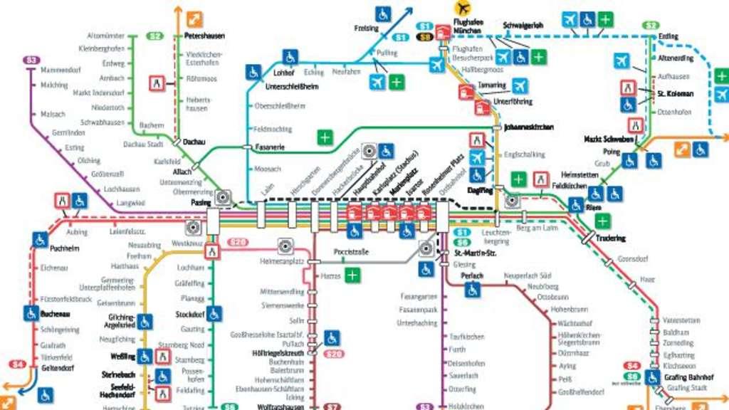 S Bahn Karte München.Die Bahn Will Sechs Milliarden Euro Verbauen Bayern