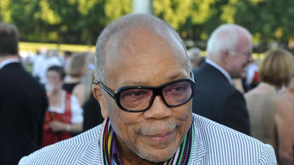 Quincy Jones redet Klartext. Foto: Ursula Düren