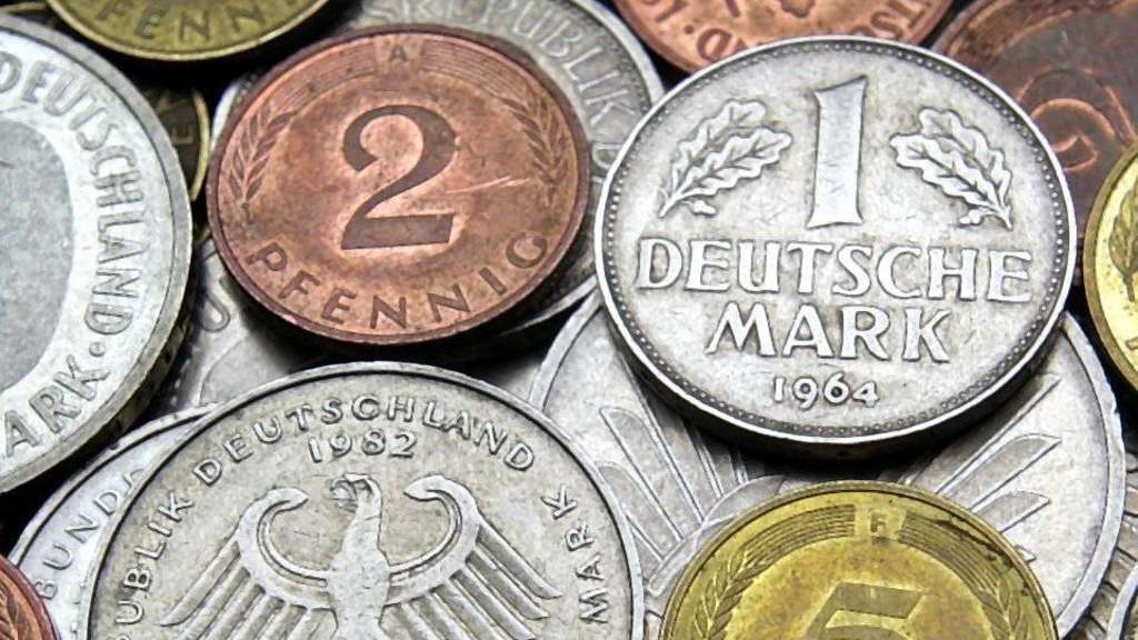 Wie Viel Die D Mark Heute Wert Ist Wirtschaft