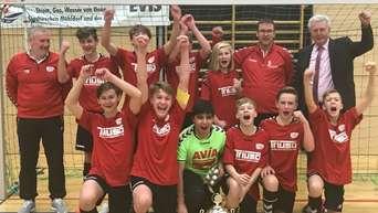 Jugend Landkreismeisterschaften Im Hallen Fussball Sport In