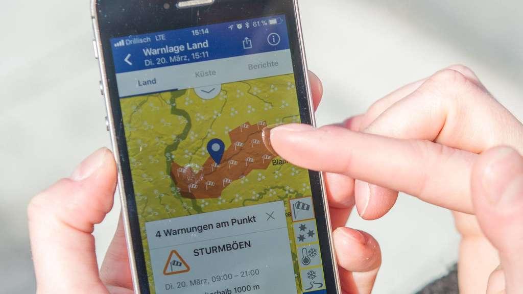 Vorinstallierte Wetter Apps Sind Oft Ungenau Wirtschaft