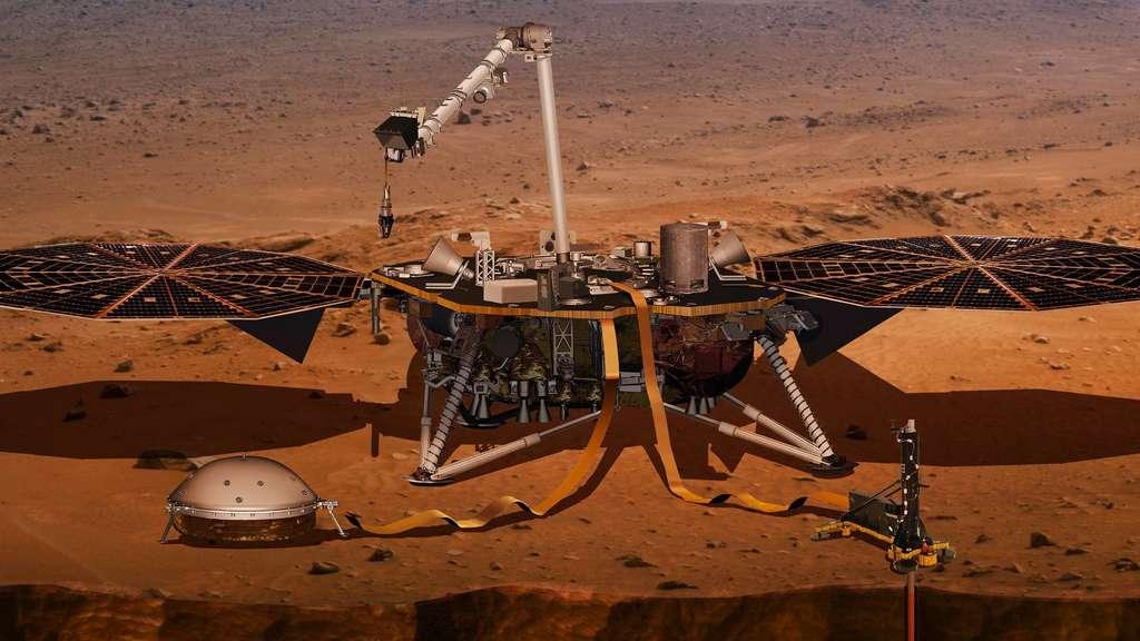 Die Nasa Fliegt Zum Mars Welt