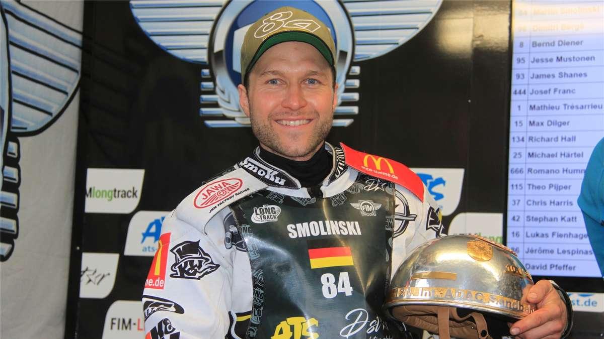 Martin Smolinski Gewinnt Ersten Langbahn Grand Prix